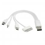 USB Port 4 in 1 Multi Charger Cable