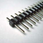ก้างปลา 40 Pin 2.54 mm Pin Header Single Row Pin Male Header