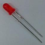 LED ขนาด 3mm สีแดง จำนวน 5 ดวง