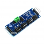 16-Channel 12-bit PWM Servo shield I2C interface PCA9685