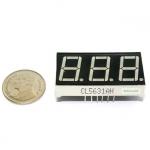 "7 Segment 0.56"" Common Cathode 3 digit Red ไฟ 7 segment 0.56"" 3 หลัก สีแดงแบบไฟลบร่วม 5631AH"