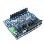 Servo Shield Arduino 16-Channel 12-bit PWM/Servo Shield บอร์ด Shield สำหรับขับ Servo 16 ช่อง