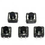 สวิตช์ กดติดปล่อยดับ ขนาด 12x12x9 mm Tact Switch 12X12x9 mm จำนวน 5 ชิ้น
