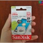 Sandisk MicroSD Ultra Class 10 48MB/S - 64GB แท้