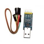 ตัวแปลงสัญญาณ USB TTL สำหรับ Arduino พร้อมสาย USB to UART (CP2102) with DTR/CTS pinout Ver3.0