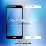 OnePlus 3, OnePlus 3T (เต็มจอ) - ฟิลม์กระจกนิรภัย ขอบสี AMAZING CP+ Nillkin แท้