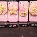iPhone 7 - เคส TPU เซเลอร์มูน กระจก Sailor Moon