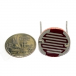 LDR 20mm Photocell Photoresistor ตัวต้านทานปรับค่าได้ตามแสง LDR ขนาด 20MM