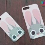 iPhone 7 Plus - เคสปิดขอบ ลายจูดี้ ฮอปส์ Zootopia
