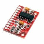 2.5-5v 2x3w ขยายเสียงขนาดเล็ก PAM8403 module red pcb