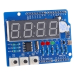 บอร์ดทดลอง Arduino Expansion Board Clock Shield Wire Digital Module Real Time Clock Shield
