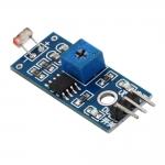 โมดูลใช้ในการตรวจจับความสว่างและความเข้มของแสง Photosensitive brightness resistance sensor module Light intensity detect