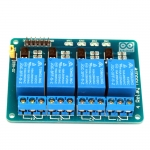 4 Channel 5V relay 4 ช่อง แบบ isolation control Relay Module Shield 250V/10A แบบ Active Low