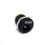 Jack DC 5.5x2.1 mm socket ตัวถังมีเกลียว