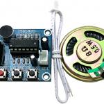 ISD1820 Voice Board Module (On-board Microphone) Sound Recording Module พร้อมลำโพง