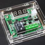 XH-W1209 digital thermosta shell acrylic กล่องอะคริลิคสำหรับโมดูล W1209