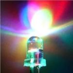 หลอดไฟ 3 สี 5mm เปลี่ยนสีอัตโนมัติ colorful f5 5mm led light tube color changing จำนวน 3 ชิ้น