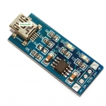 Li-ion Battery Charger Module Board mini 5v USB 1A li-ion Battery charger TP4056 18650