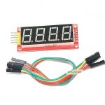 """โมดูลแสดงค่าตัวเลข 4 หลัก Four digital tube module LED display ขนาด 0.56"""""""