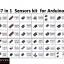 ชุดโมดูลเซนเซอร์ 37 in 1 สำหรับ Arduino พร้อมกล่องพลาสติก thumbnail 1