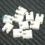 จัมเปอร์ สีขาว Mini Jumper 2 Pins Female Pitch 2.54mm จำนวน 10 ชิ้น thumbnail 1