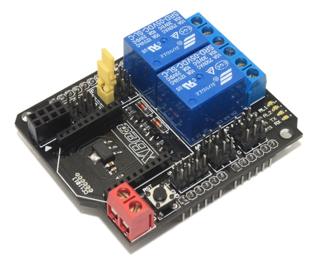 2 Channel Relay 2 ช่อง Module Shield With XBee/BTBee interface
