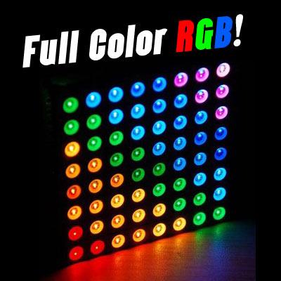 LED Dot Matrix 8x8 Full Color RGB ขนาด 60mm x 60mm
