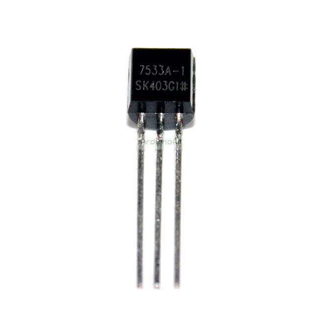 IC เรกูเลต 3.3V 7533A-1 HT7533 HT7533A-1 TO-92 Voltage Regulators 3.3V