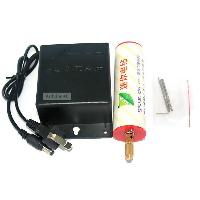 สว่านเจาะแผ่นปริ้น PCB สำหรับงาน DIY ครบเซต