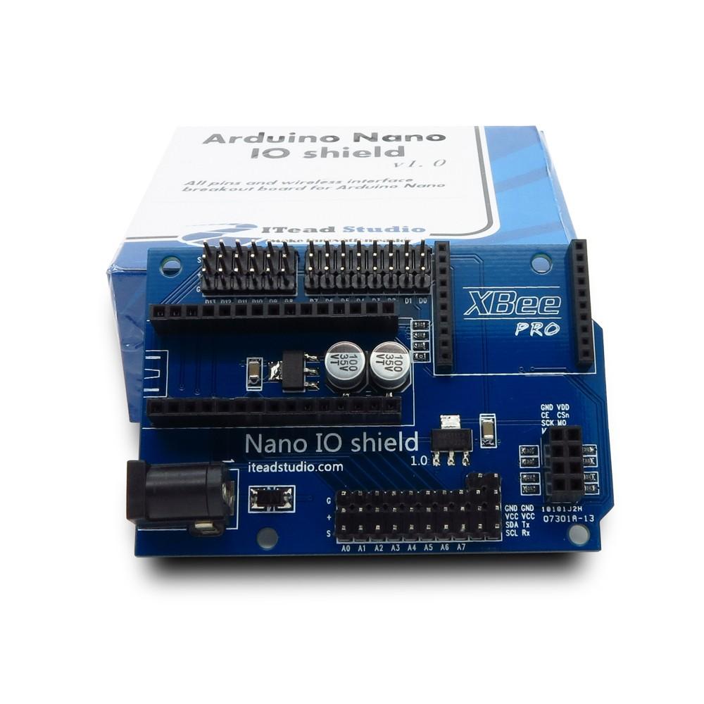 Arduino Nano IO shield ยี่ห้อ Itead
