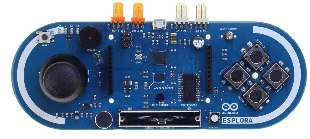 Arduino Esplora พร้อม Micro USB