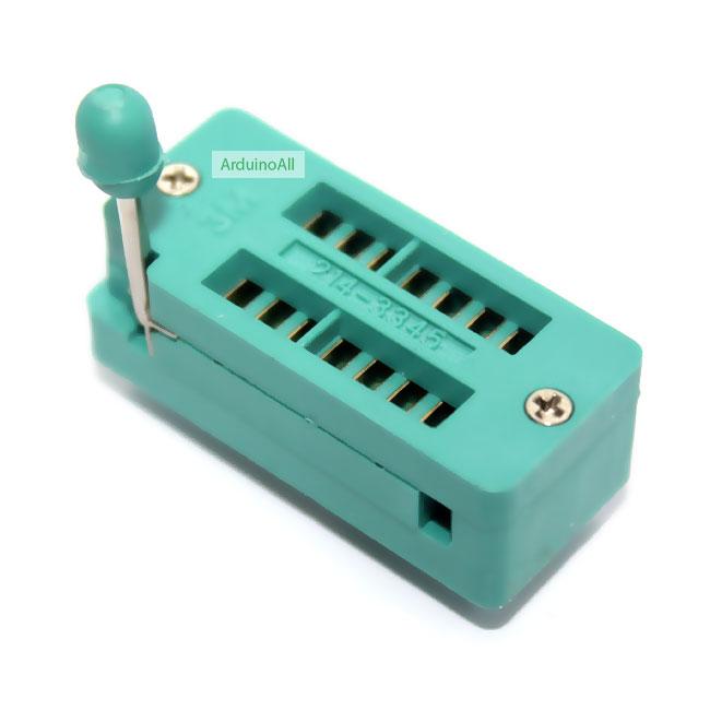 ZIF Socket 14 Pin Universal ZIF Dip Tester IC Test Socket