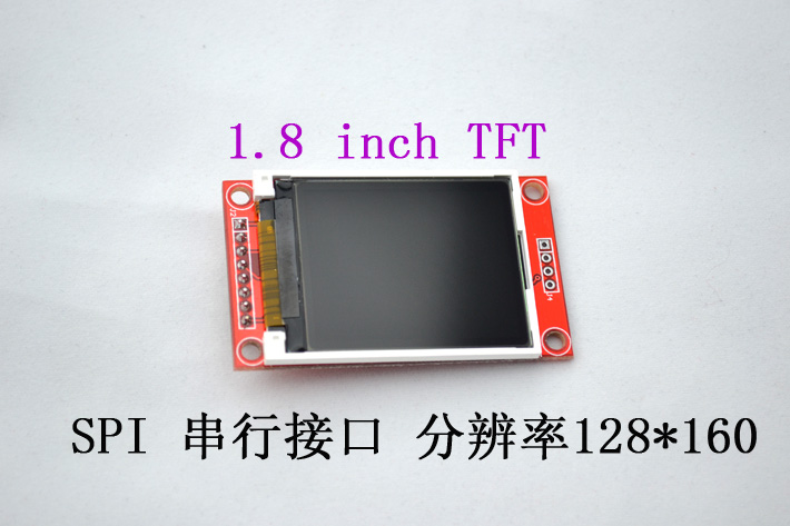 """จอ TFT LCD ขนาด 1.8"""" พร้อมช่องเสียบ SD Card"""