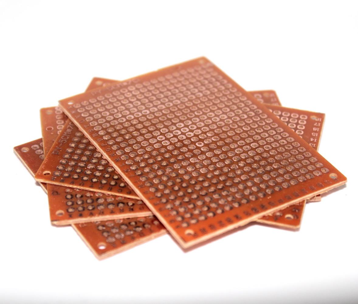 แผ่นปริ๊นอเนกประสงค์ Prototype PCB Board 5x7 cm