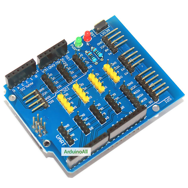 Expansion board Arduino Shield sensor interface ยี่ห้อ Catalex