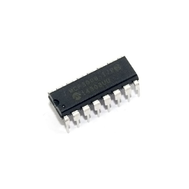 MCP3008 8-Channel 10-Bit ADC With SPI Interface