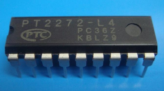 IC PT2272-L4 Remote Control Decoder