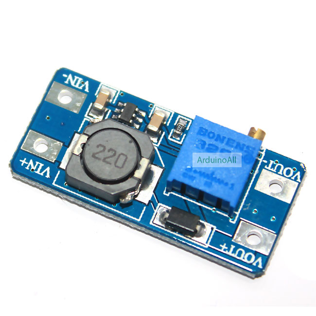 2A DC-DC Step Up Booster Power (MT3608)