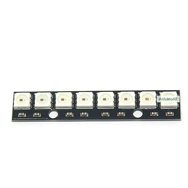 NeoPixel Bar 8 WS2812 RGB LED