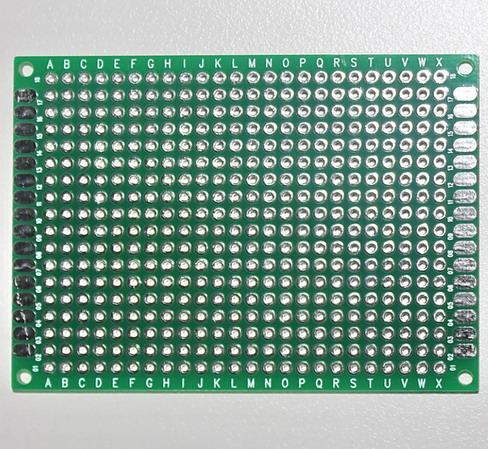 แผ่นปริ๊นอเนกประสงค์ Prototype PCB Board 5x7 cm สีเขียว 2 ด้าน